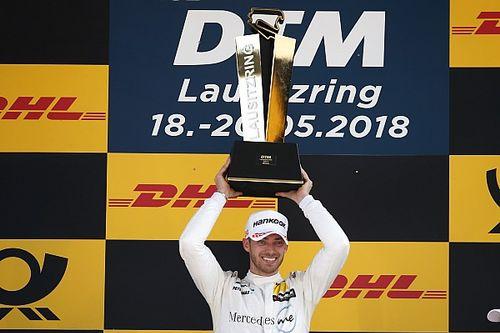Endlich am Ziel: Mortaras erster DTM-Sieg mit Mercedes