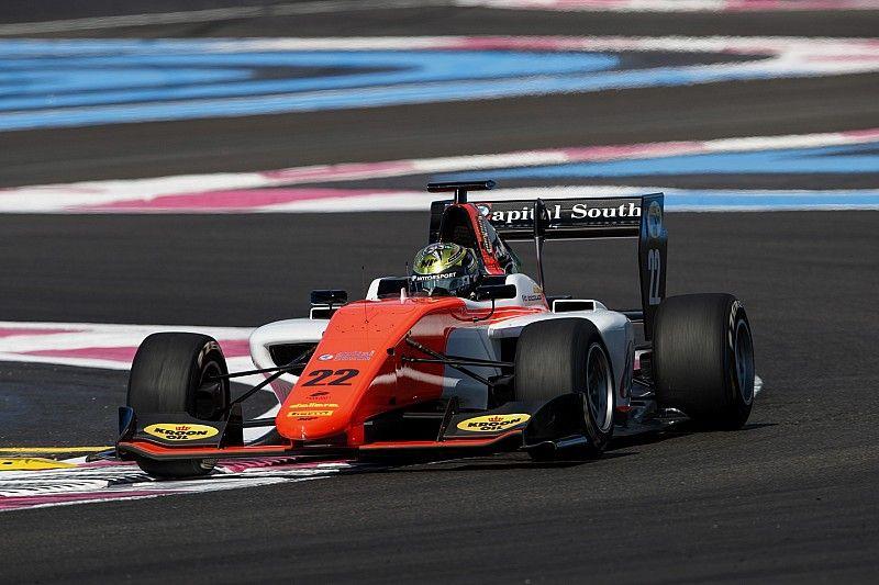Boccolacci gana la primera carrera de la GP3 en Paul Ricard