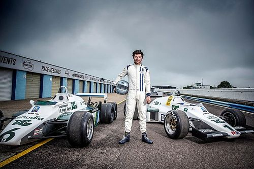 Гай Мартин и Баттон проведут гонку на легендарных машинах Williams