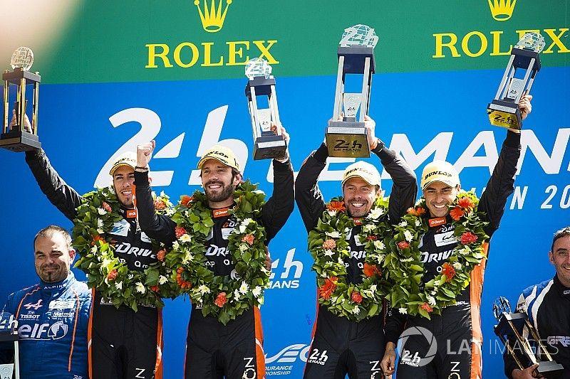 Vainqueur au Mans en LMP2, Vergne ne boude pas son plaisir