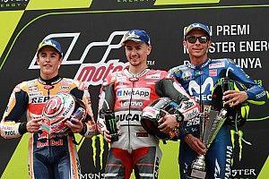 """Rossi: """"Se fosse chefe de equipe, queria ter Márquez e Lorenzo"""""""
