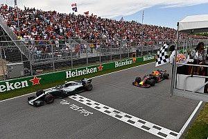 Verstappen vivió el Gran Premio de Canadá sólo