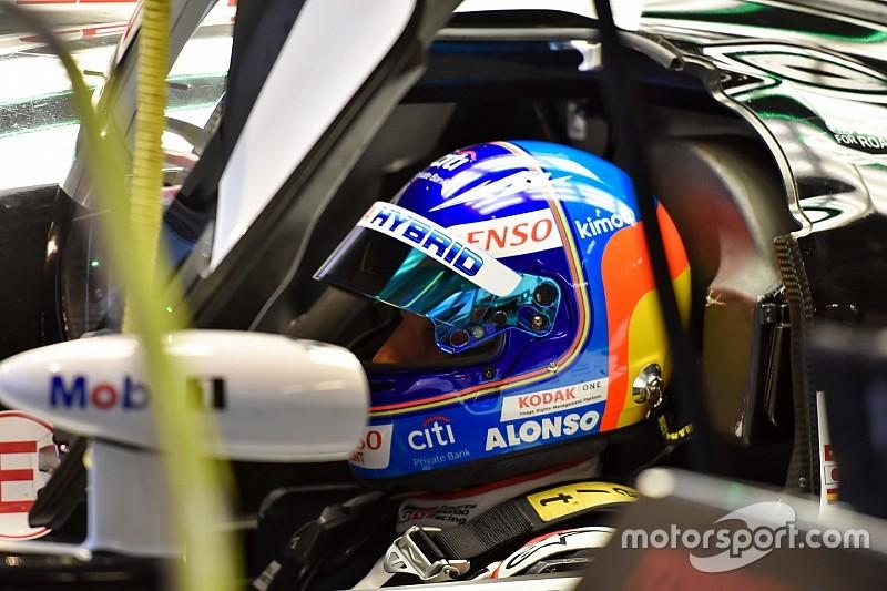 """Alonso : Remontée nocturne de 1min30 et """"une partie du travail fait"""""""