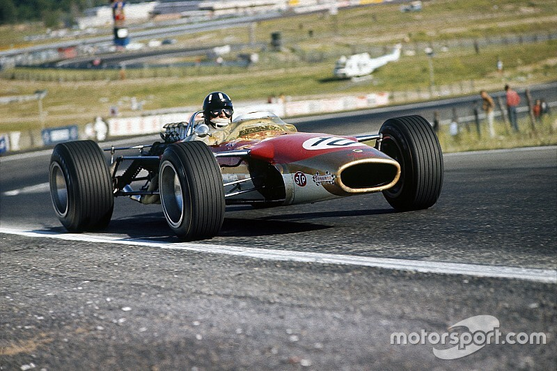 El legendario Graham Hill