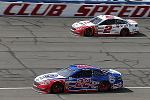 NASCAR Cup Interview No wins yet, but Team Penske
