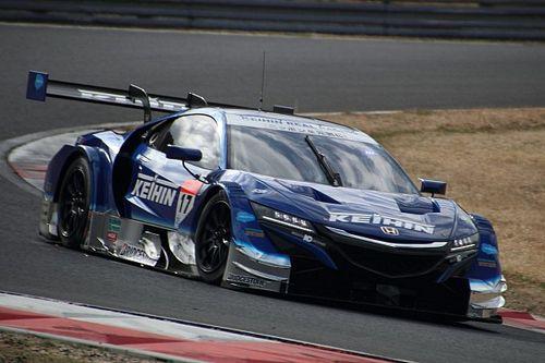 スーパーGT岡山公式テスト2日目午前はホンダ勢が速さを見せる