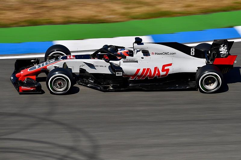 Grosjean: Yine en hızlı dördüncü takımız