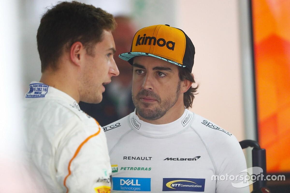 Alonso behauptet: Vandoorne ist schneller als Räikkönen