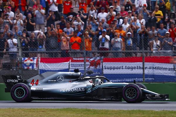 Formula 1 Breaking news Hamilton was urged over radio to push amid penalty fears