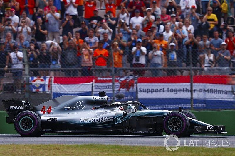Receosa por punição, Mercedes pediu a Hamilton para forçar