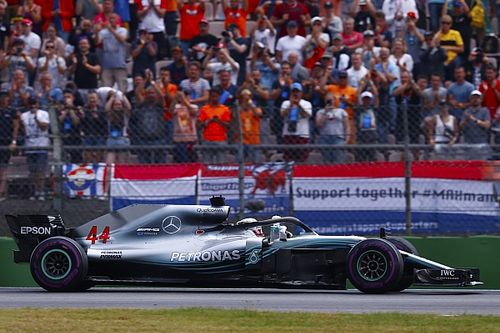 Hamilton was urged over radio to push amid penalty fears