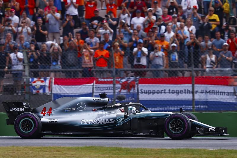 Mercedes vreesde tijdstraf en dwong Hamilton te blijven pushen