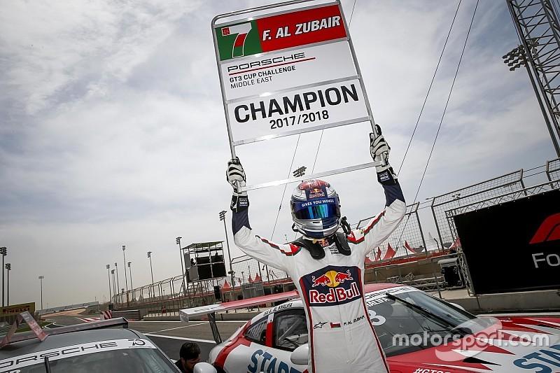 بورشه جي تي 3 الشرق الأوسط: الزُبير يُتوّج بطلاً للموسم التاسع في البحرين