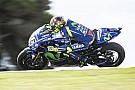 Rossi preocupado por su ritmo para la carrera en Australia