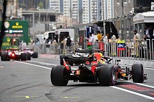 Startaufstellung: Grand Prix von Aserbaidschan der Formel 1 2018