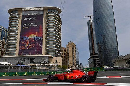 FP3 GP Azerbaijan: Vettel ungguli Hamilton di latihan terakhir