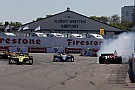 IndyCar IndyCar St.Petersburg: Dramatis di akhir, Bourdais menang