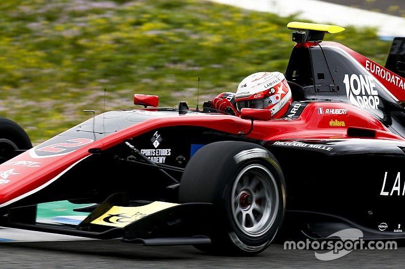 Hubert domina el primer día de test en GP3 y Calderón en 15°