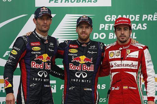 Webber mindössze 15 pontra volt Vettel legyőzésétől