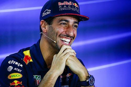 """Ricciardo: """"Nel 2018 spero di lottare per il titolo con Verstappen"""""""