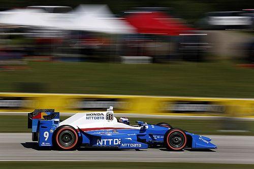 Диксон выиграл гонку IndyCar на «Роуд Америка», Алешин десятый