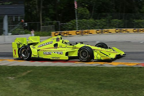 Road America IndyCar: Pagenaud tops another Penske-dominated session