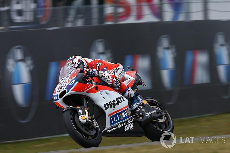 """Dovizioso: """"El campeonato es tan impredecible que no se puede pensar en el título"""""""