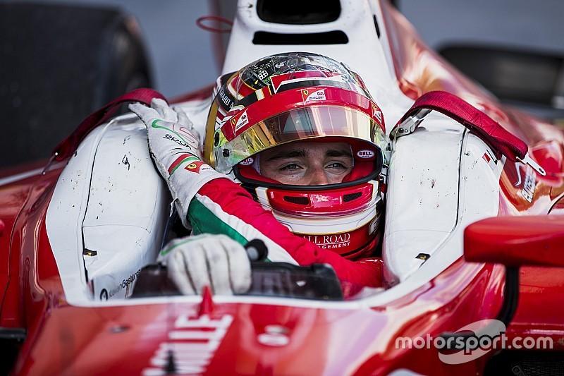 Leclerc domina los libres de F2 adelantados al jueves en Silverstone