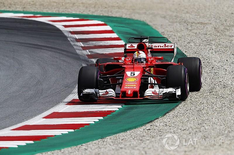 """Sebastian Vettel: """"Pérez me costó un poco de tiempo"""""""