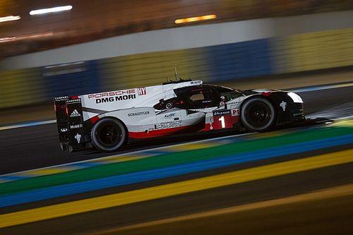 «24 часа Ле-Мана». 14-й час: Porsche оторвалась на 10 кругов
