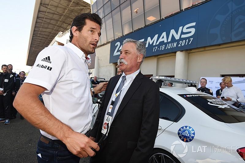 """Webber will gefährlichere Formel 1: """"Es ist kein Hallenhalma"""""""