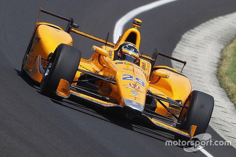 """Alonso: """"Test met 2018-spec IndyCar behoort tot de mogelijkheden"""""""