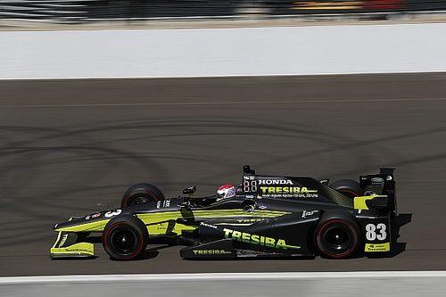 Кимболл завоевал первый поул в IndyCar