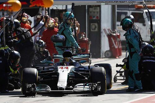 A Mercedes a bokszban is kiosztott egy pofont a Forma-1-nek Monzában