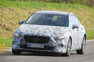 Automotive News Spyshots: A-Klasse von Mercedes als Limousine
