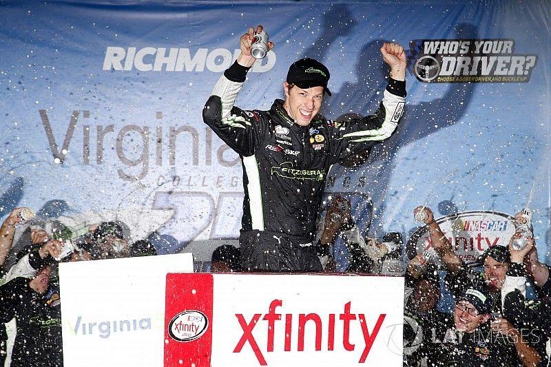 Keselowski takes Richmond Xfinity win after late-race pass on Busch
