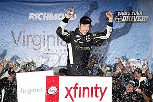 Keselowski takes Richmond Xfinity win after late-race pass on Busch