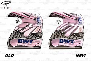 Formel 1 Analyse Formel-1-Technik: Die Updates am Force India VJM10 in Silverstone