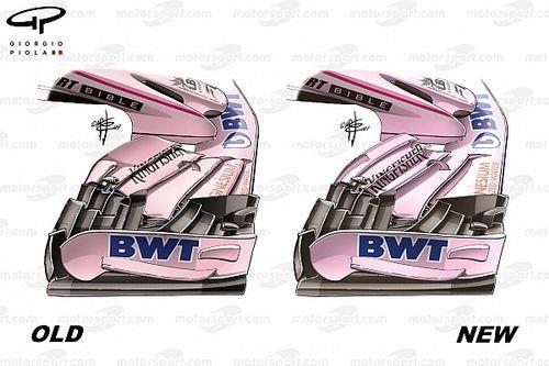Formel-1-Technik: Die Updates am Force India VJM10 in Silverstone