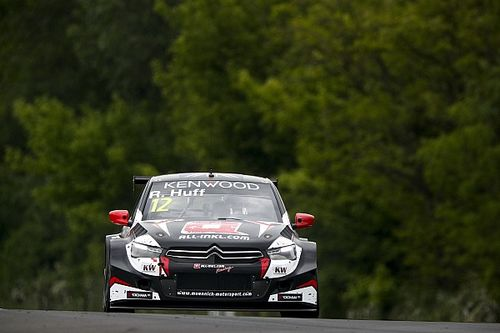 Hungary WTCC: Huff tops wet-dry first practice