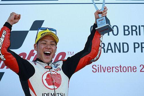 Nakagami blijft Pasini net voor en wint GP Groot-Brittannië