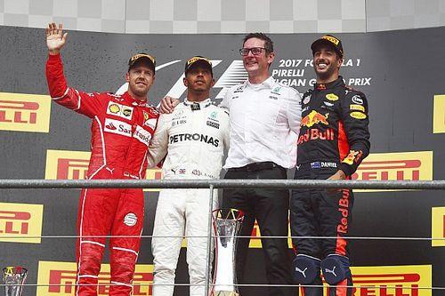 Belgian GP: Hamilton keeps Vettel at bay to win