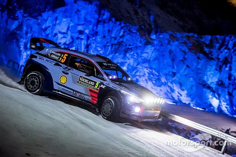 Neuville says Rally Sweden crash result of bad luck