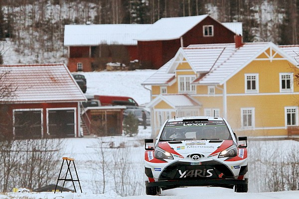 WRC Sweden WRC: Latvala stays ahead as Neuville drops time