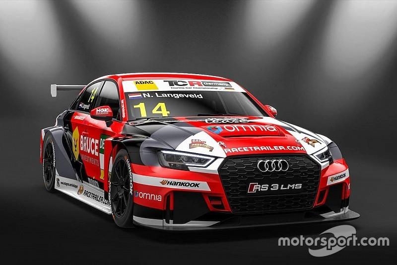 Niels Langeveld sull'Audi della Racing One per puntare al titolo
