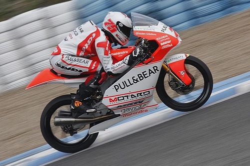 Aspar Mahindra riders target race pace improvement for Jerez test