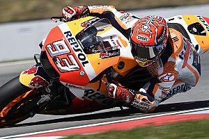 Márquez lidera el warm up en Brno por más de un segundo