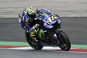 Rossi, Vinales hobbled by rear tyre drop-off in Austria