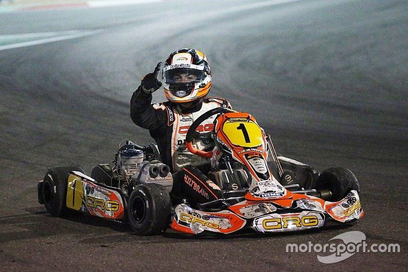 """Hiltbrand, campeón del mundo de karting: """"Desde pequeño soñé con esto"""""""