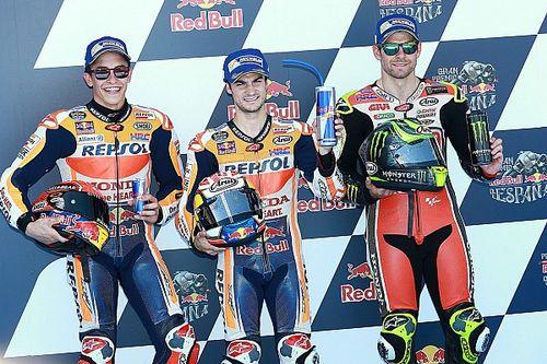 Grid start balap MotoGP Spanyol 2017